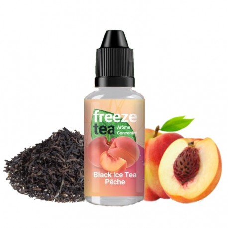CONCENTRE BLACK ICE TEA PECHE - Freeze Tea