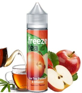BLACK ICE TEA POMME ET INFUSION 50ML - Freeze Tea