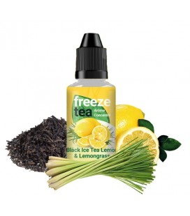 CONCENTRE BLACK ICE TEA LEMON & LEMONGRASS - Freeze Tea